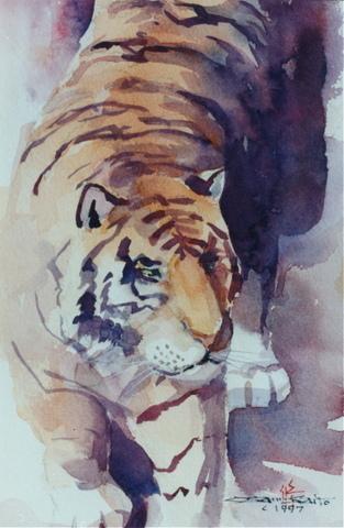 ZOOM - ちょっとシニアチックな水彩画家 Watercolor by Osamu 水彩画家のロス日記 Watercolorist Diary