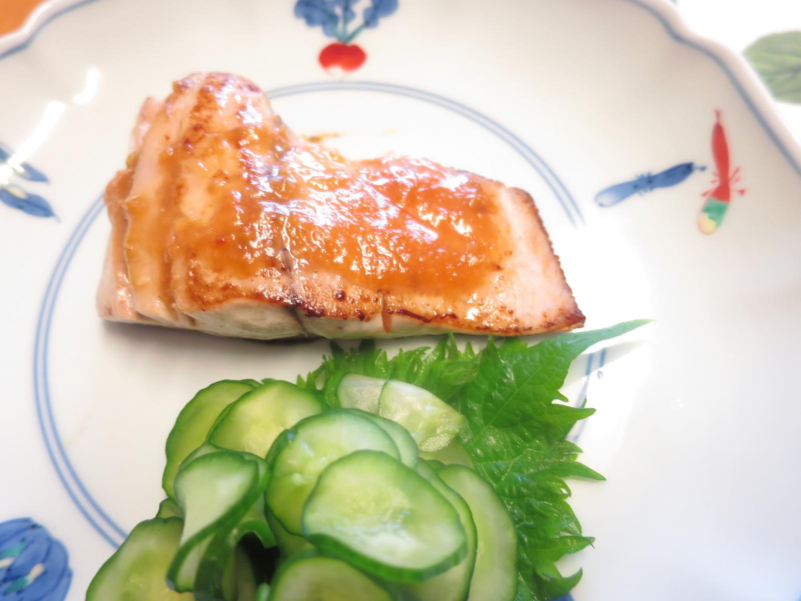 1年生レッスン 魚の味噌焼き_d0031682_14105428.jpg
