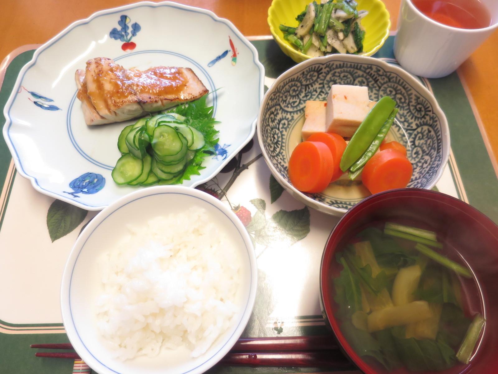 1年生レッスン 魚の味噌焼き_d0031682_14114660.jpg
