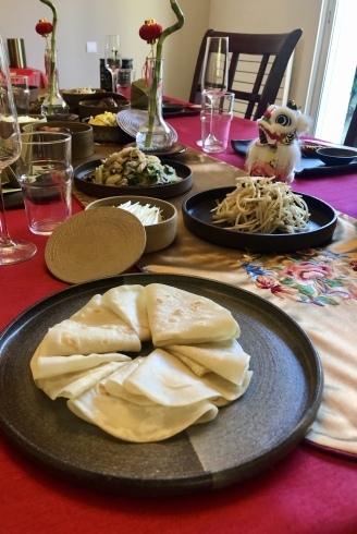 旧正月・中華料理のレッスンと私の器のコラボ_e0243221_23585430.jpg