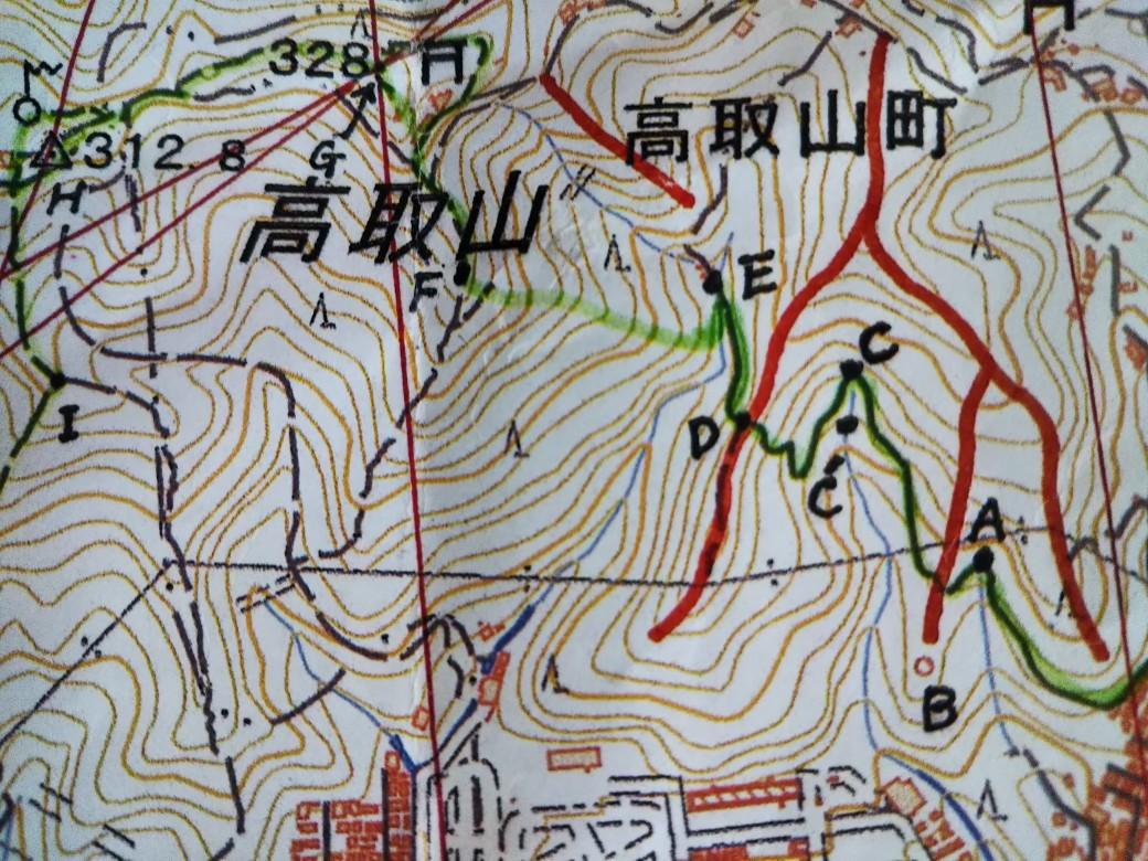 地図読み山行 高取山_c0218841_16164795.jpg