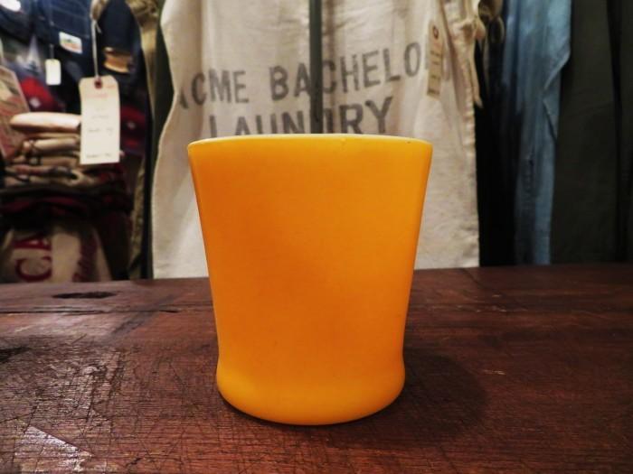 60\'s Fire King D-Handle Mug Orange 山吹色_e0187362_12143639.jpg