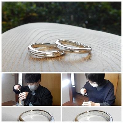 結婚指輪  セミオーダー|岡山_d0237570_12511761.jpg