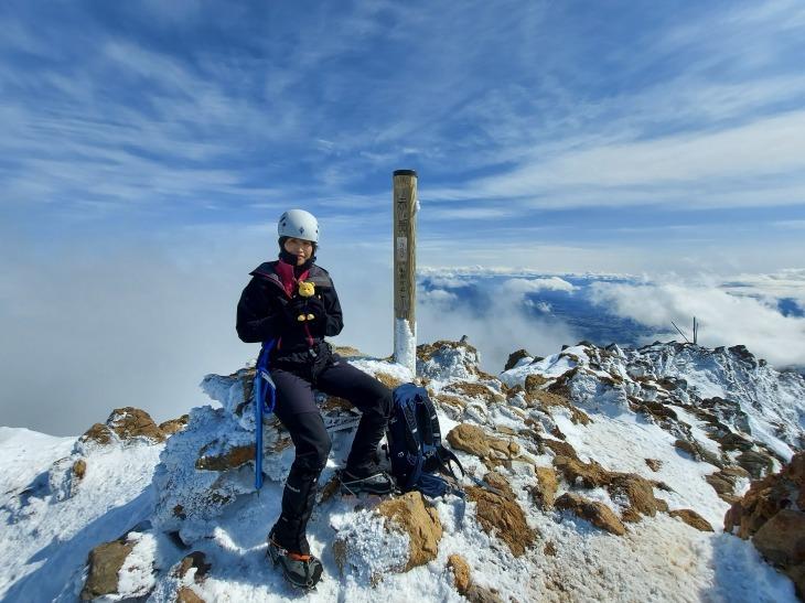 冬季八ヶ岳赤岳登山_e0231387_12160580.jpg