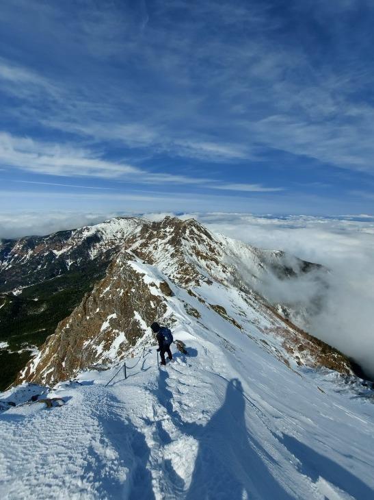 冬季八ヶ岳赤岳登山_e0231387_12160916.jpg