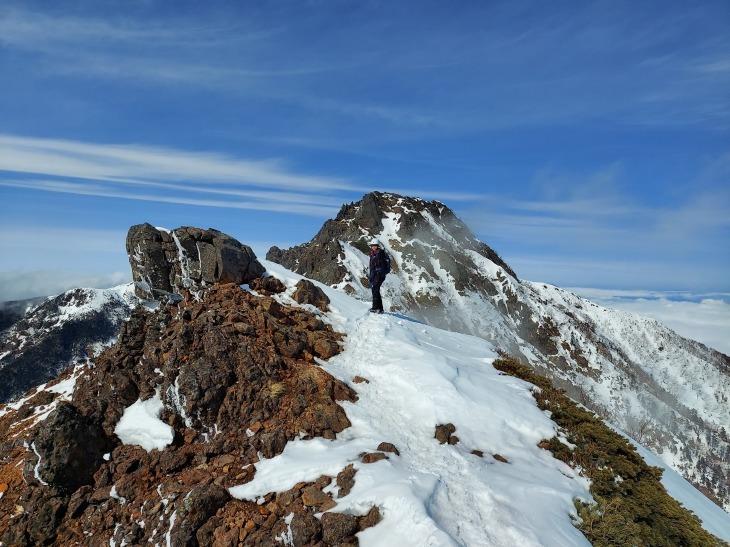 冬季八ヶ岳赤岳登山_e0231387_12161625.jpg