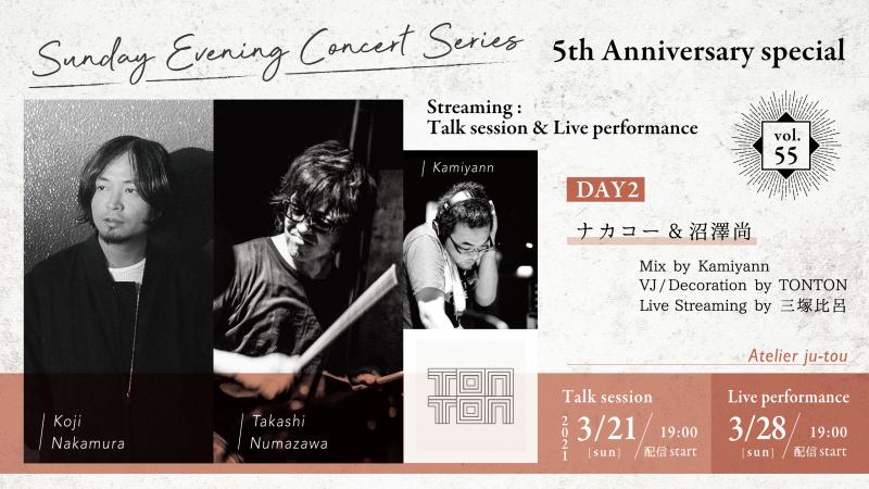 ナカコー&沼澤尚〜Streaming:Talk session&Live performance_e0241591_15405192.jpg