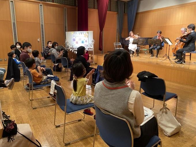 子どもたちと芸術家の出会う街アウトリーチ 弦楽四重奏コンサート♪_a0062707_22024304.jpg