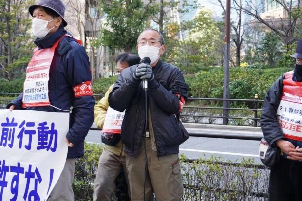 3月3日昼、JR西日本本社前行動を闘った_d0155415_14411674.jpg