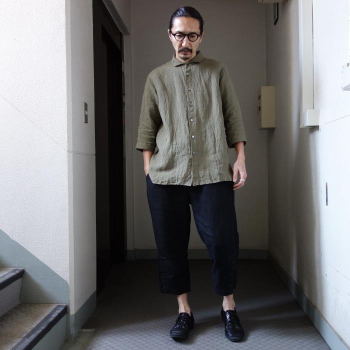 5月の製作 / french widespread belgium-linen shirt_e0130546_17074519.jpg