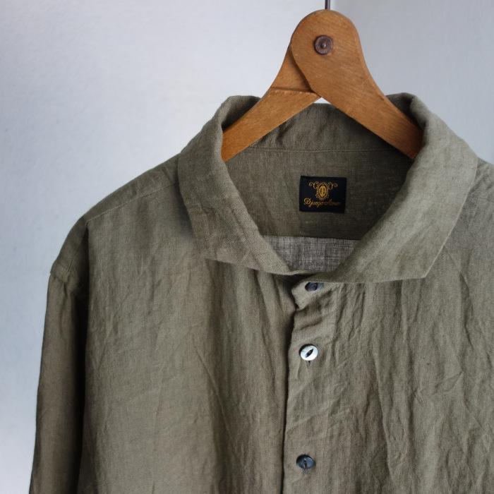 5月の製作 / french widespread belgium-linen shirt_e0130546_17175235.jpg