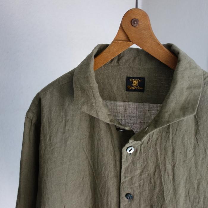 5月の製作 / french widespread belgium-linen shirt_e0130546_17180800.jpg