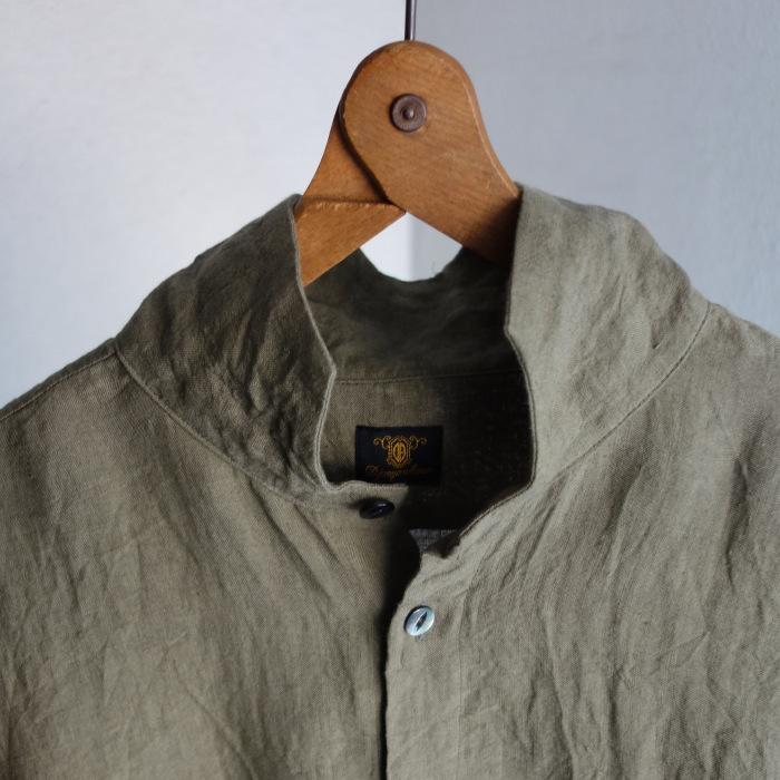 5月の製作 / french widespread belgium-linen shirt_e0130546_17184095.jpg
