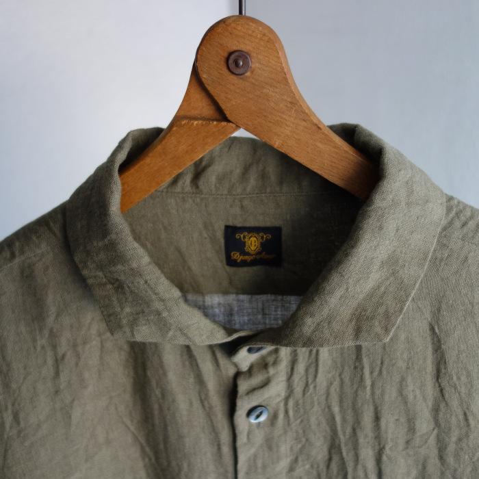 5月の製作 / french widespread belgium-linen shirt_e0130546_17185730.jpg