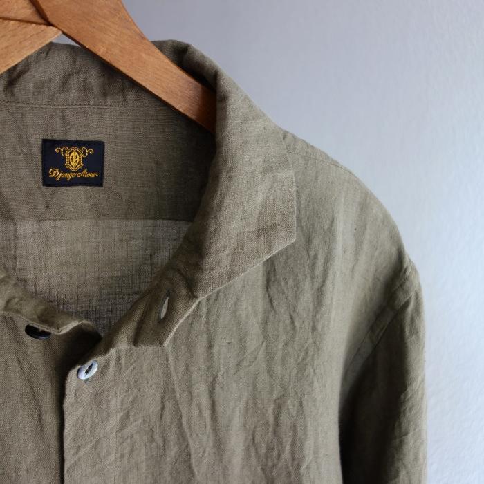 5月の製作 / french widespread belgium-linen shirt_e0130546_17191583.jpg