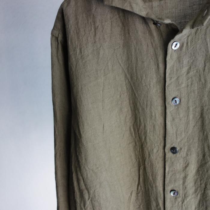 5月の製作 / french widespread belgium-linen shirt_e0130546_17193100.jpg