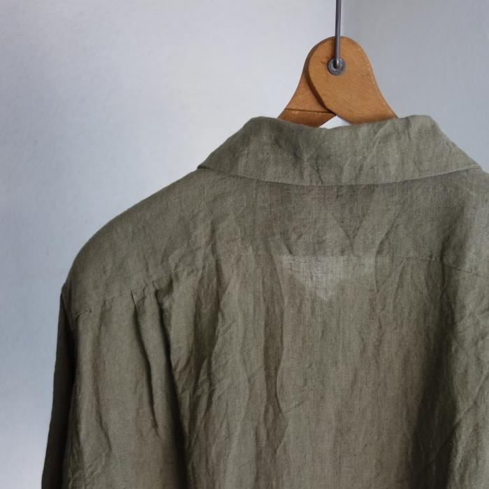 5月の製作 / french widespread belgium-linen shirt_e0130546_17195568.jpg