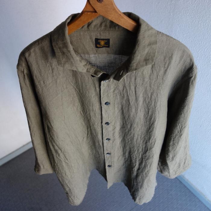 5月の製作 / french widespread belgium-linen shirt_e0130546_17201055.jpg