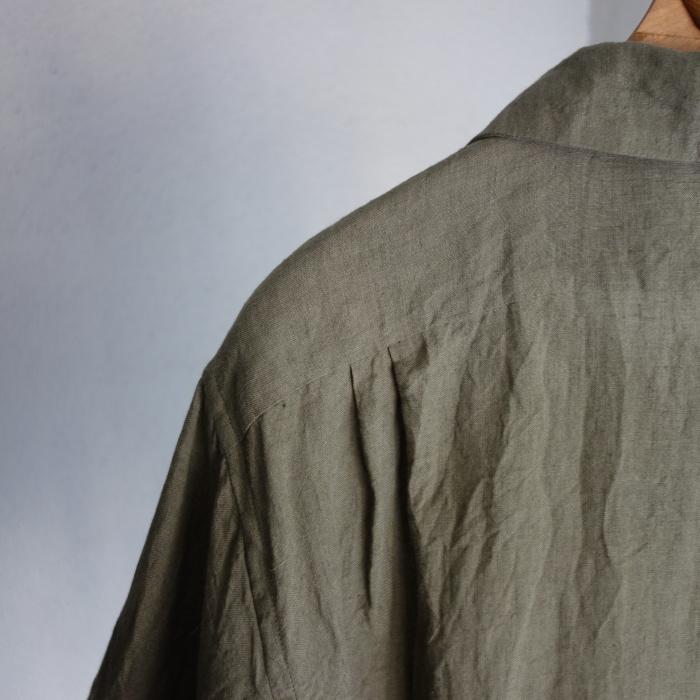 5月の製作 / french widespread belgium-linen shirt_e0130546_17203975.jpg