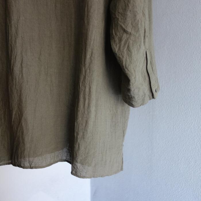 5月の製作 / french widespread belgium-linen shirt_e0130546_17205715.jpg