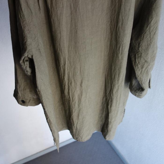 5月の製作 / french widespread belgium-linen shirt_e0130546_17214148.jpg