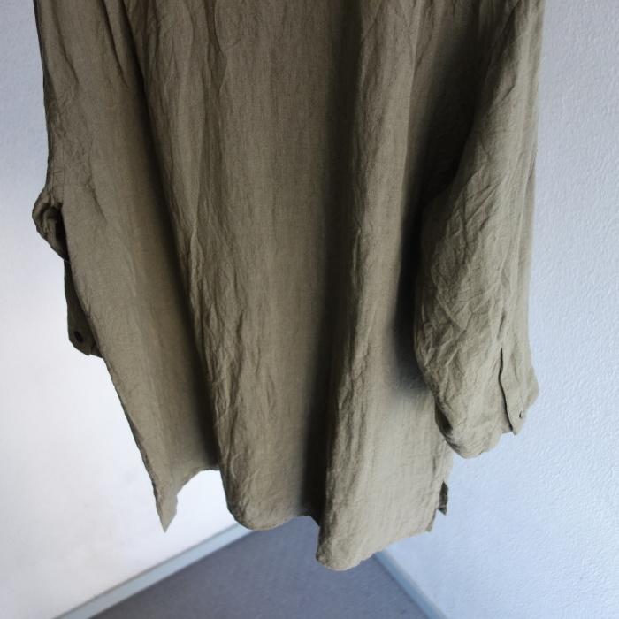 5月の製作 / french widespread belgium-linen shirt_e0130546_17215978.jpg