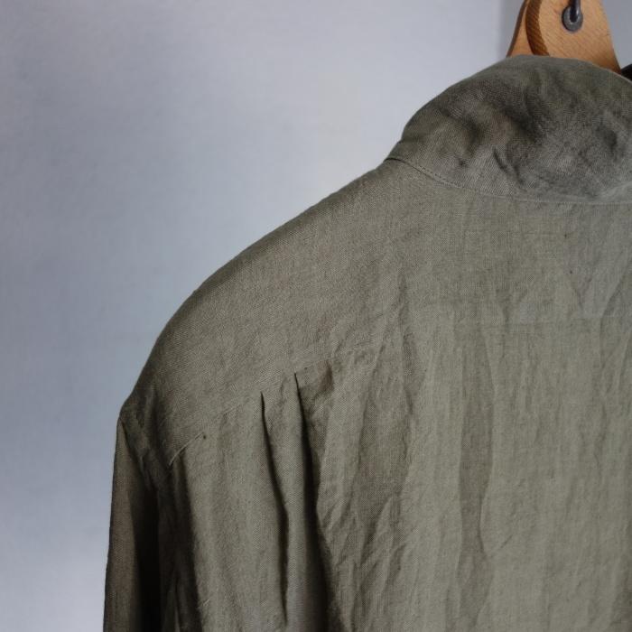 5月の製作 / french widespread belgium-linen shirt_e0130546_17221970.jpg