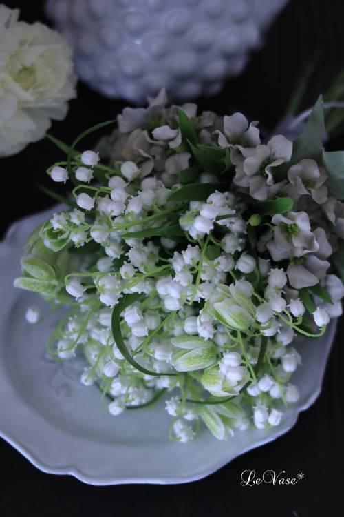 『Muguet Bouquet』  artificial flower 1day Lessonのお知らせ_e0158653_16274273.jpg