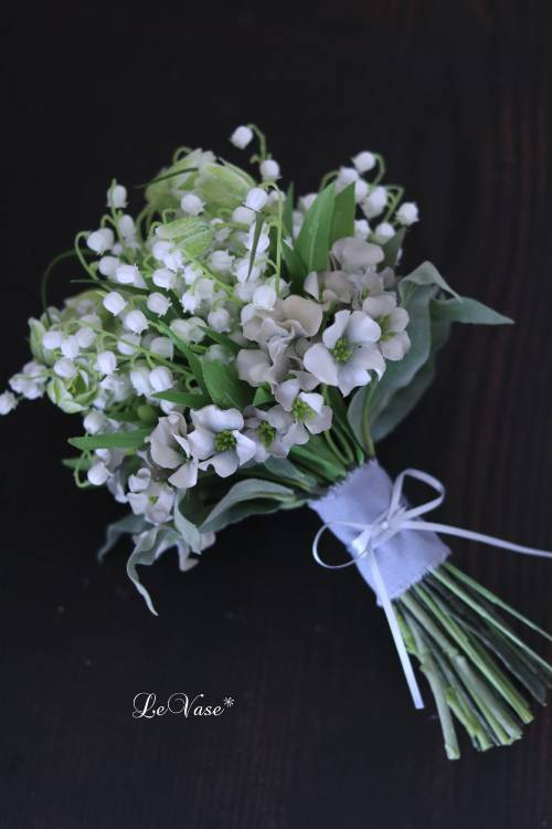 『Muguet Bouquet』  artificial flower 1day Lessonのお知らせ_e0158653_16280253.jpg