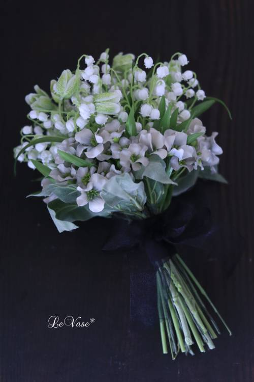 『Muguet Bouquet』  artificial flower 1day Lessonのお知らせ_e0158653_16283782.jpg