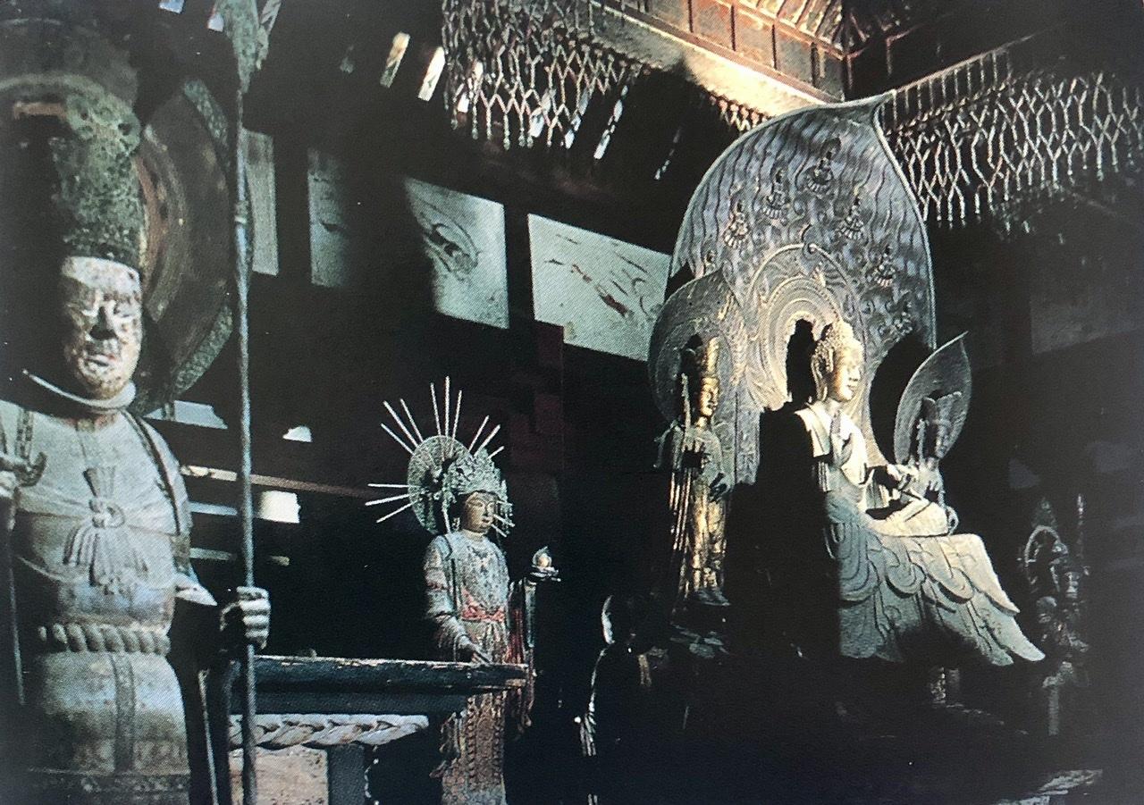 奈良の旅 14 贅沢なひととき 法隆寺_a0092659_11593923.jpeg