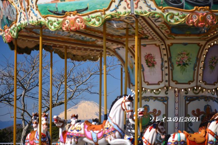 園内で富士山  『ソレイユの丘2021』_d0251161_17084115.jpg