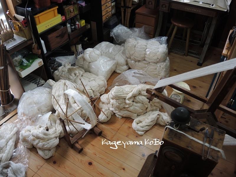 紬糸、いろいろ仕入れました!_f0175143_15103741.jpg