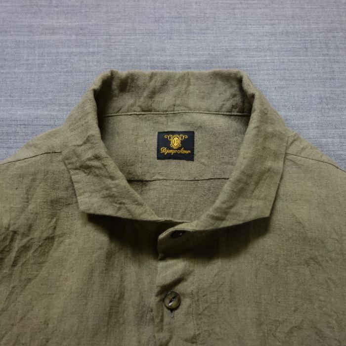 5月の製作 / french widespread belgium-linen shirt_e0130546_13375712.jpg