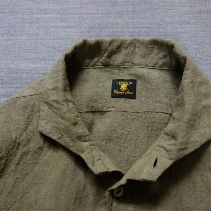 5月の製作 / french widespread belgium-linen shirt_e0130546_13381732.jpg