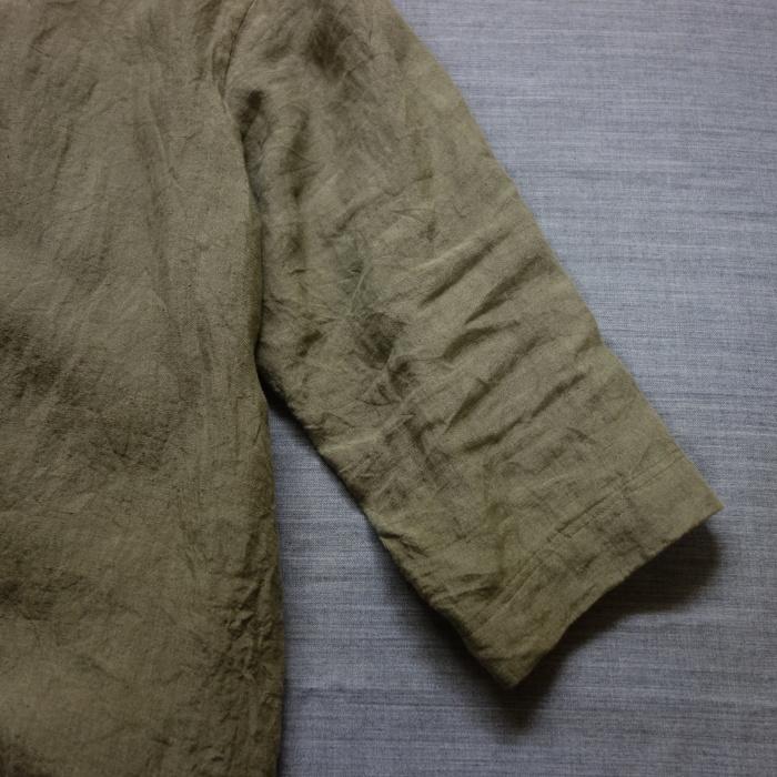 5月の製作 / french widespread belgium-linen shirt_e0130546_13383525.jpg