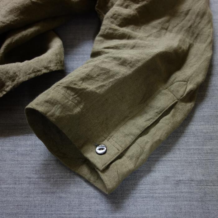 5月の製作 / french widespread belgium-linen shirt_e0130546_13385221.jpg
