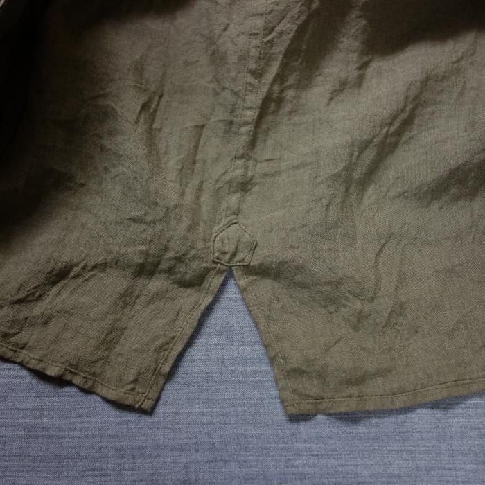 5月の製作 / french widespread belgium-linen shirt_e0130546_13401038.jpg