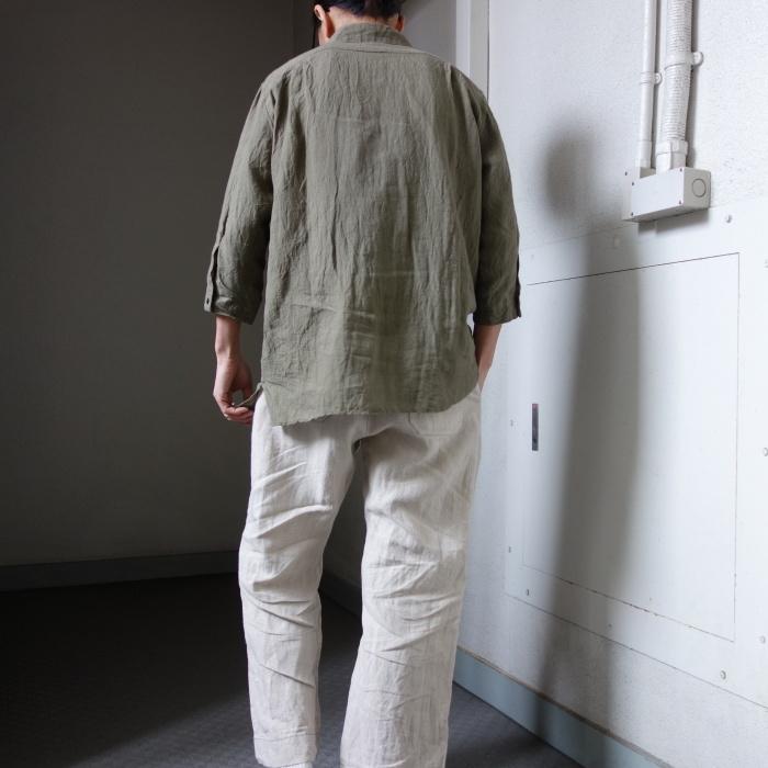 5月の製作 / french widespread belgium-linen shirt_e0130546_16340738.jpg