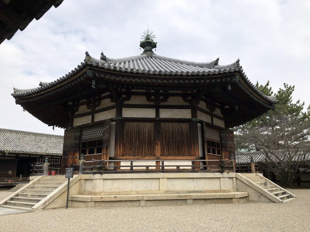 奈良の旅 16  法隆寺夢殿_a0092659_15245045.jpeg
