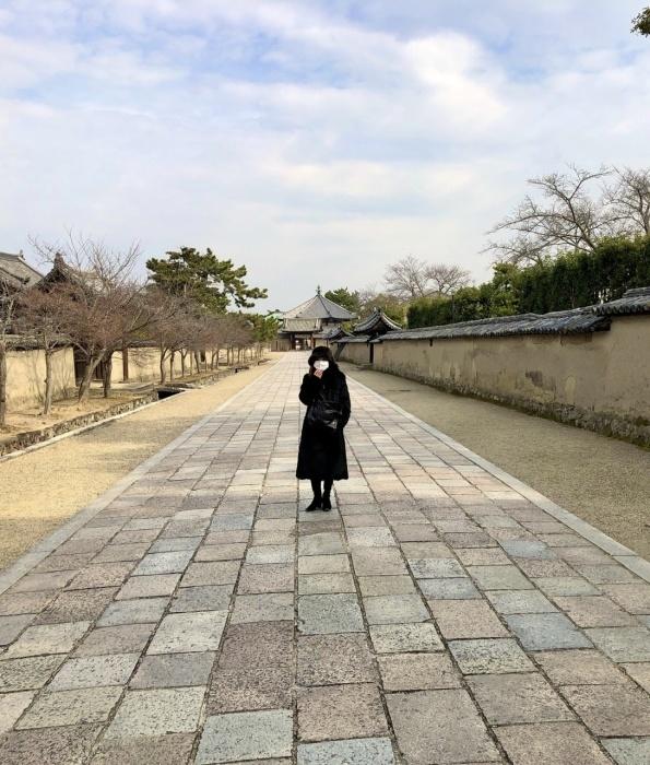 奈良の旅 16  法隆寺夢殿_a0092659_15273194.jpeg