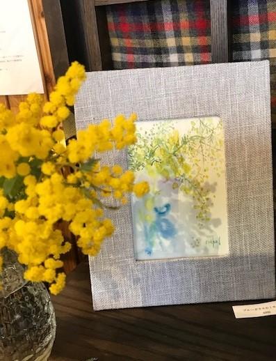 花屋つくしさんでの個展、無事終了しました。_c0138704_09252241.jpg