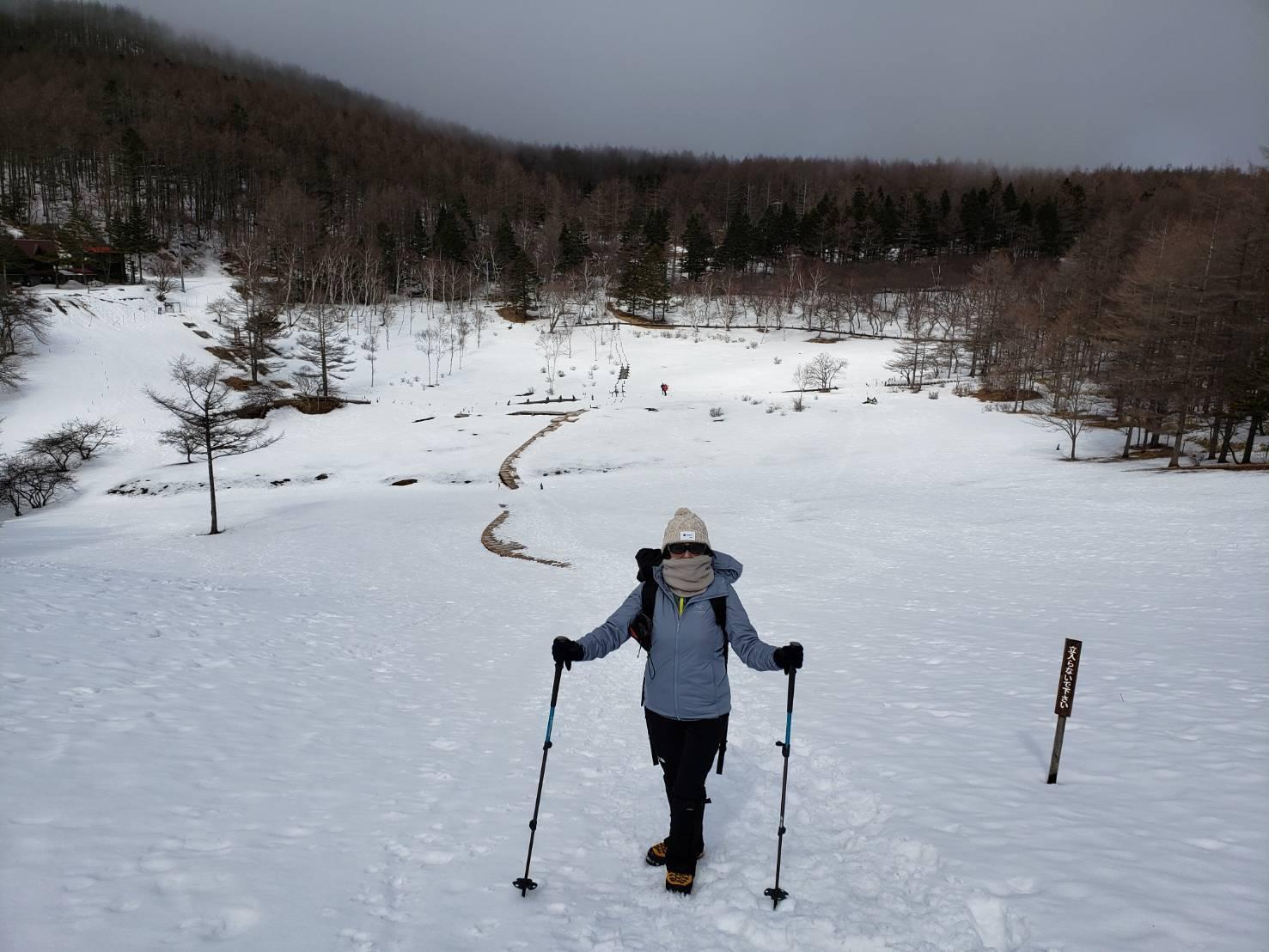 雪山ハイク入門の入笠山へ。_a0138134_00584352.jpeg