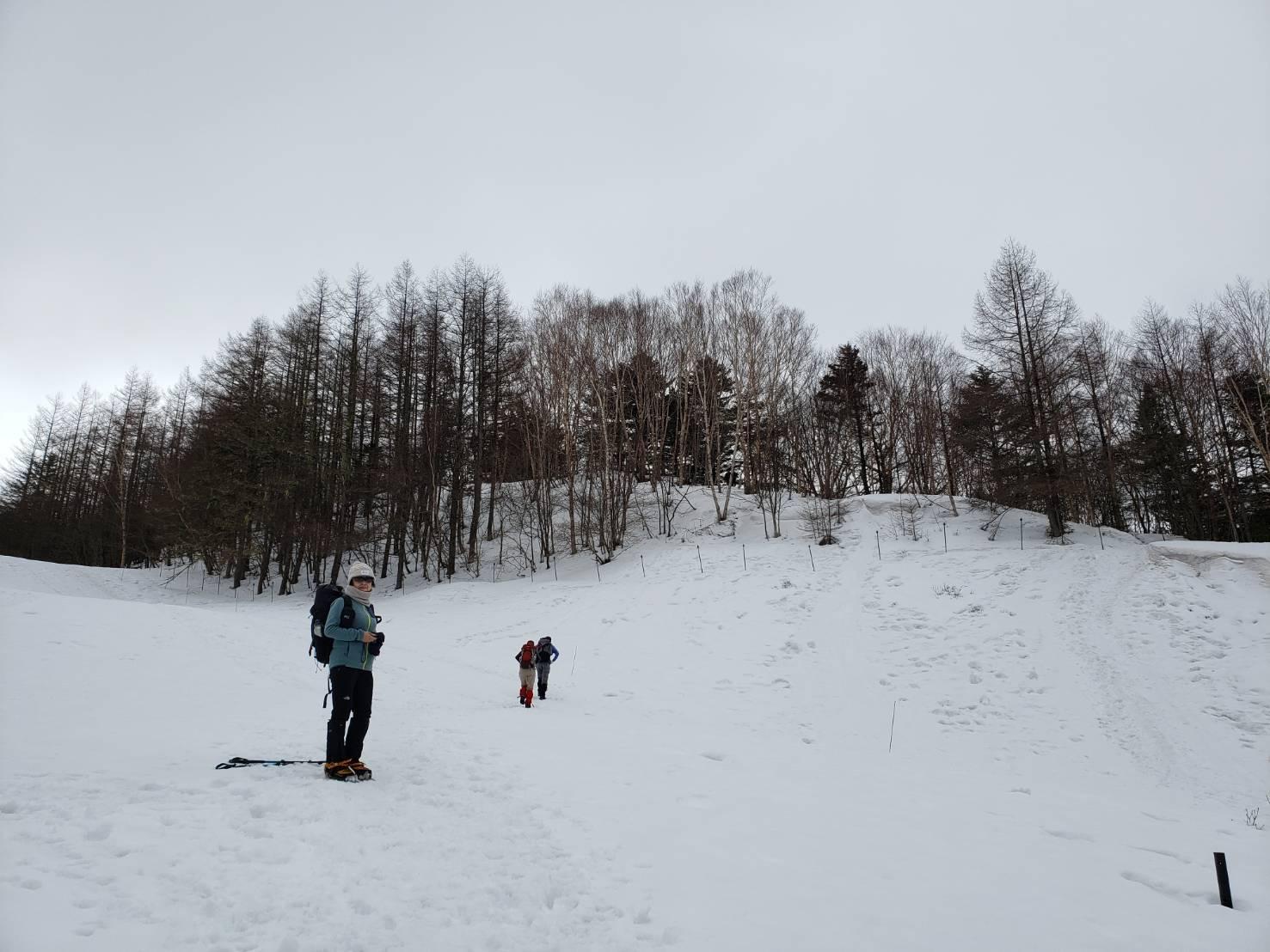 雪山ハイク入門の入笠山へ。_a0138134_01250553.jpeg