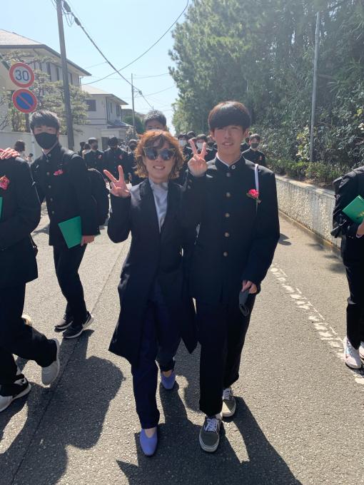 陽太!湘洋中学卒業おめでとう!!!_d0106911_12212680.jpg