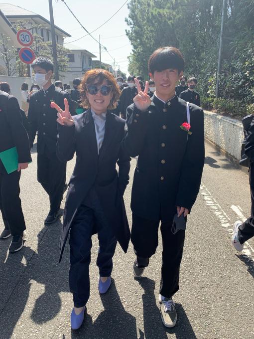 陽太!湘洋中学卒業おめでとう!!!_d0106911_12212771.jpg