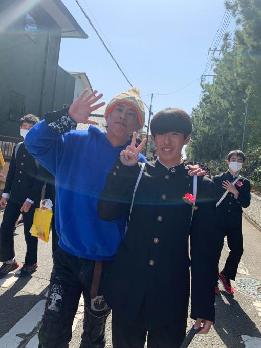 陽太!湘洋中学卒業おめでとう!!!_d0106911_12220441.jpg
