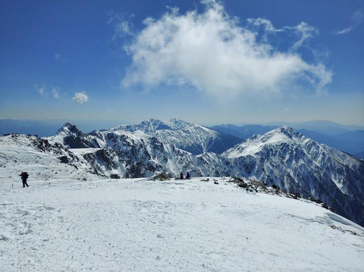 冬季木曽駒ケ岳登山_e0231387_20595213.jpg
