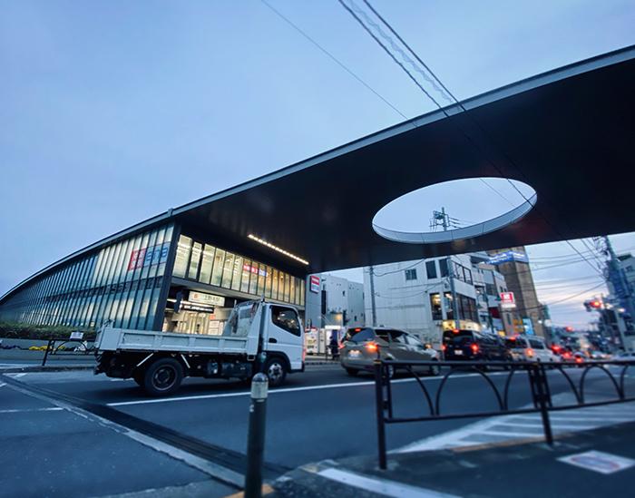 上野毛駅 / iPhone 11_c0334533_22095384.jpg