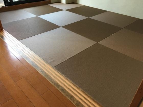 【江東区東雲】44%off琉球畳が超安い〜施工例&日記_b0142750_12395543.jpeg